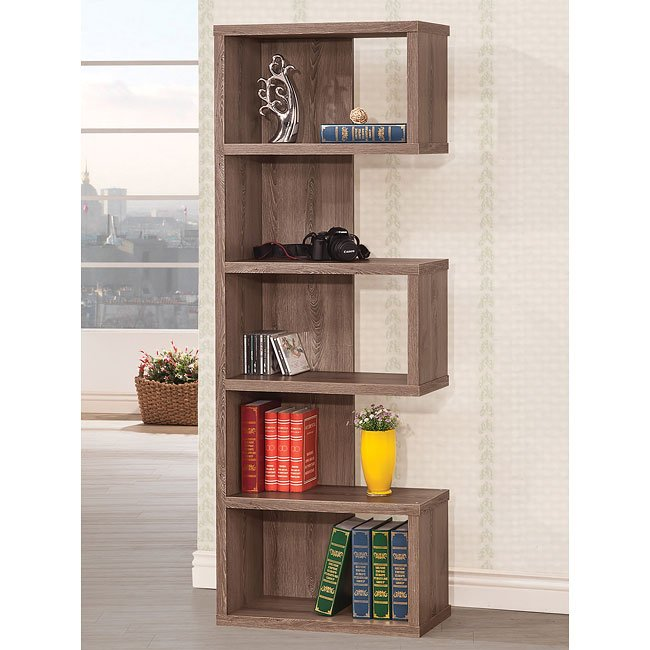 Backless Bookshelves Furniture Cart