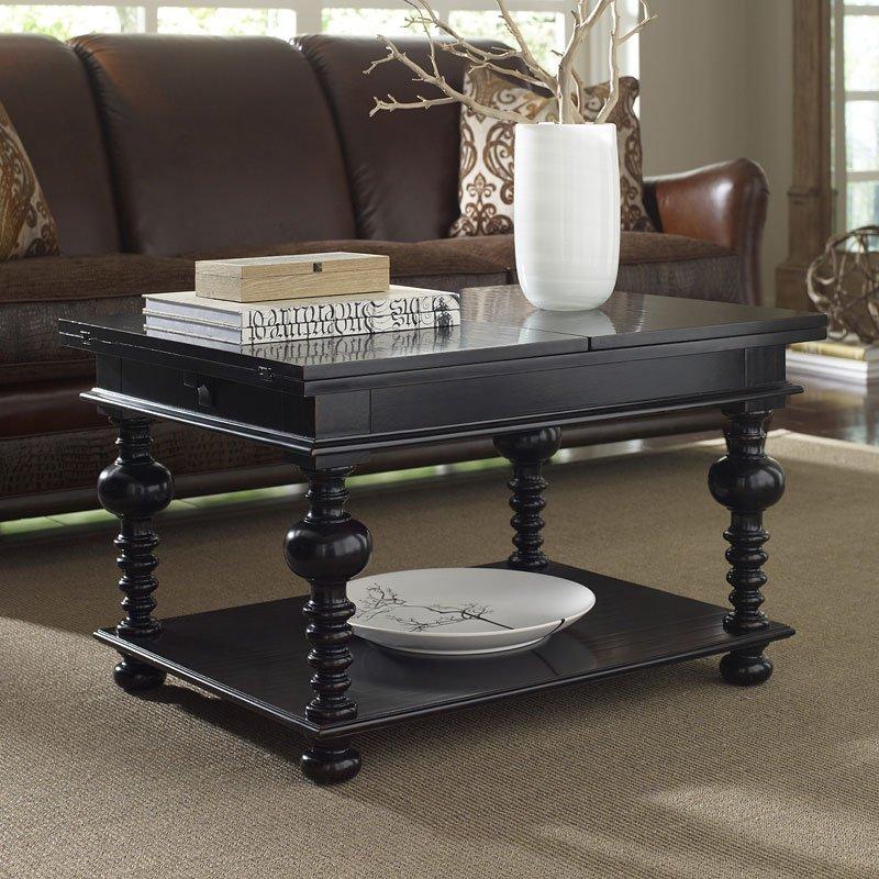 the foundry harvest flip top cocktail table art furniture furniture cart. Black Bedroom Furniture Sets. Home Design Ideas