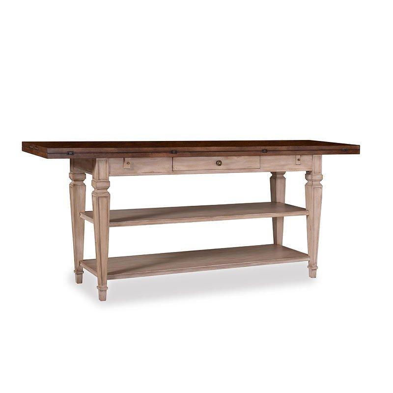 The Foundry Cedar Flip Top Console Table