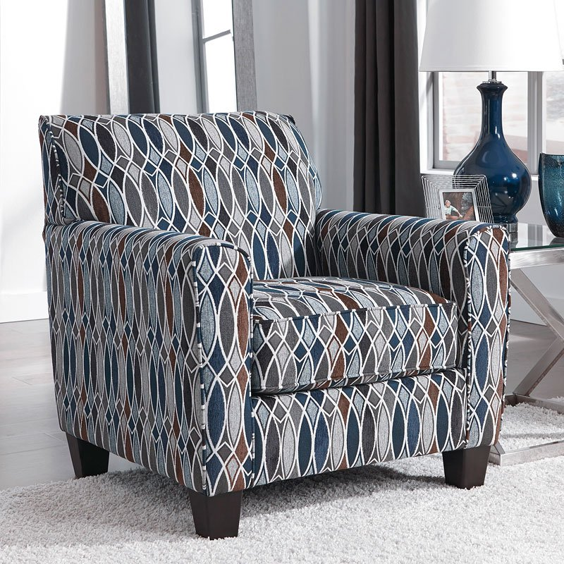 Creeal Heights Ink Accent Chair Benchcraft Furniture Cart