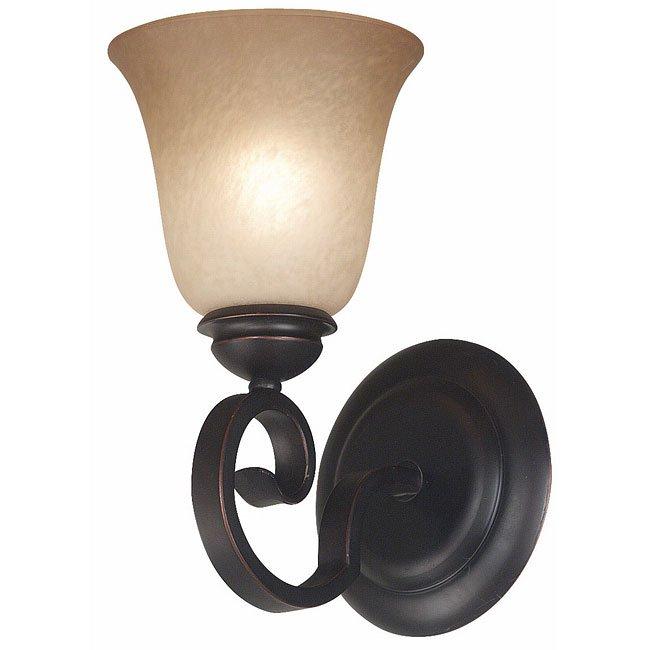 Flex 1 Light Sconce (Bronze)