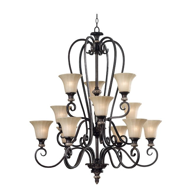 Leafston 12 Light Chandelier