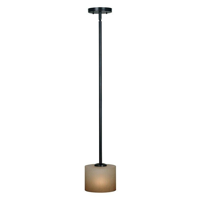 Matrielle 1 Light Mini Pendant (Bronze)