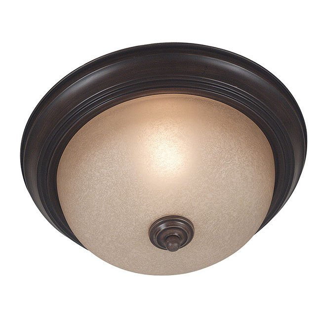 Triomphe 1 Light Flush Mount (Cocoa)