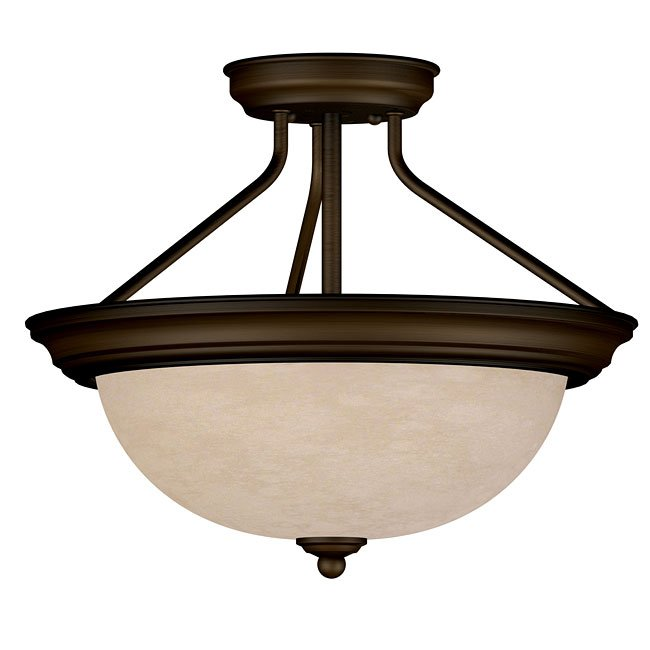Triomphe 2 Light Semi-Flush (Cocoa)