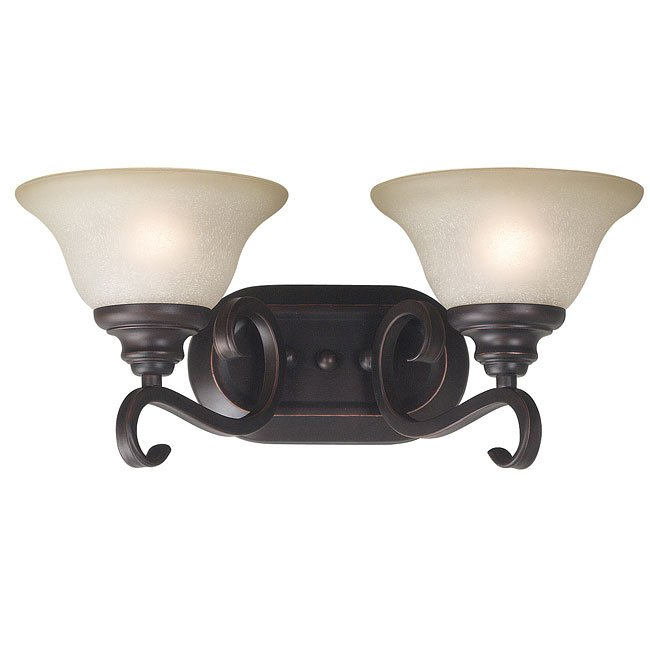 Welles 2 Light Vanity (Bronze)