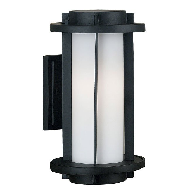 Lumi 2 Light Medium Wall Lantern (Espresso)