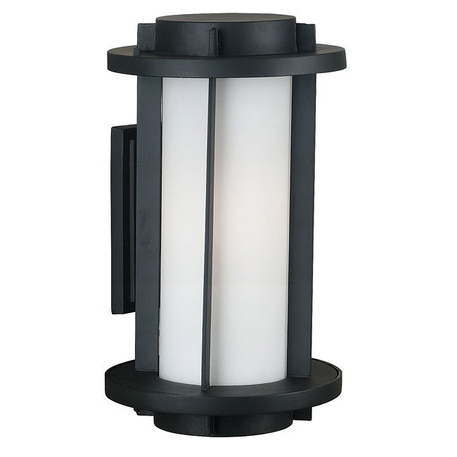 Lumi 2 Light Large Wall Lantern (Espresso)