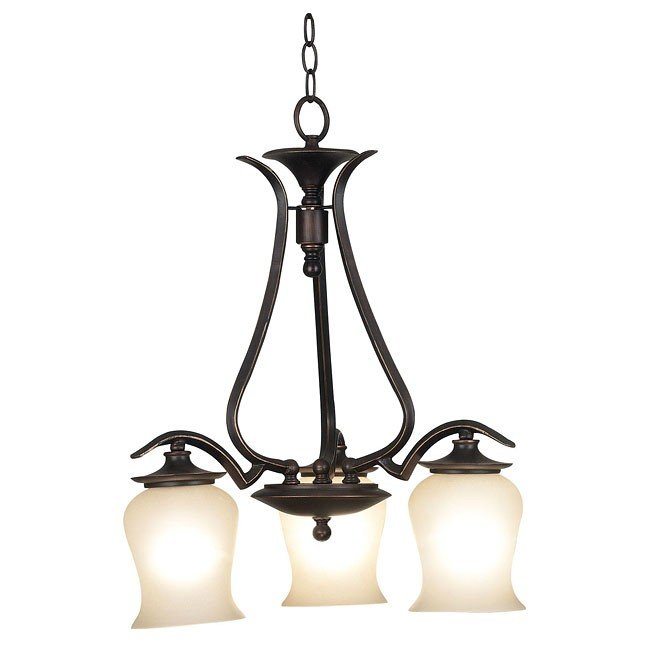 Bienville 3 Light Chandelier (Bronze)