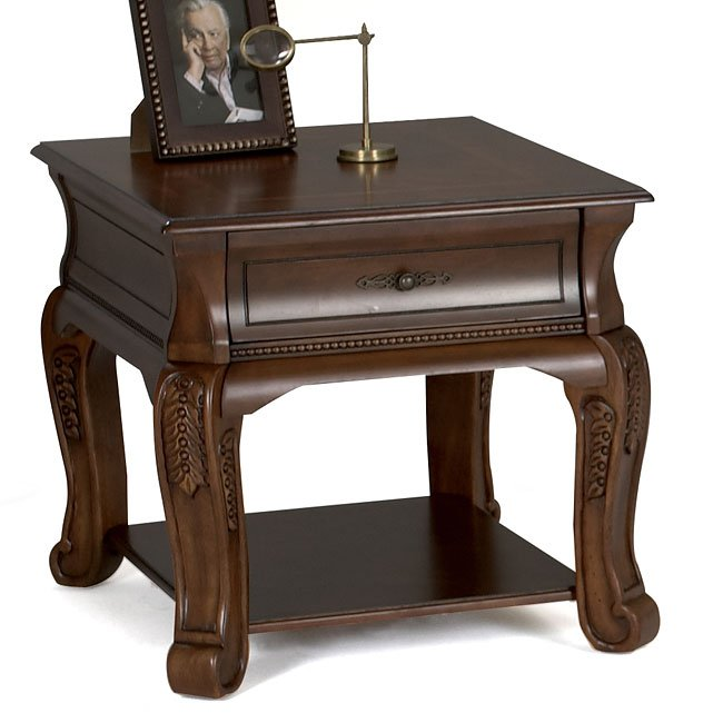Winchester End Table Klaussner Furniture Cart