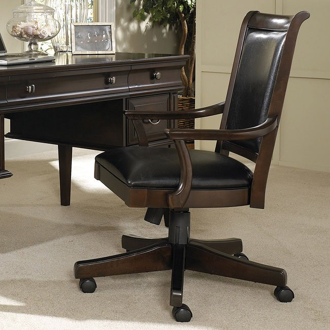 Dining Room At Kendall College: Kendall Home Office Set With Leg Desk Samuel Lawrence