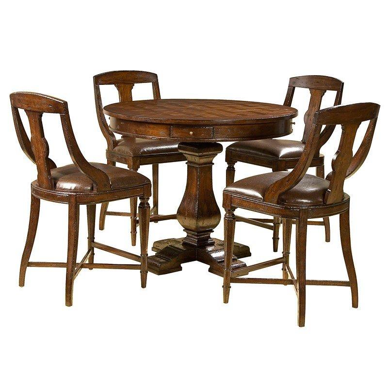 Havana Pub Game Table Set w/ Pub Chairs