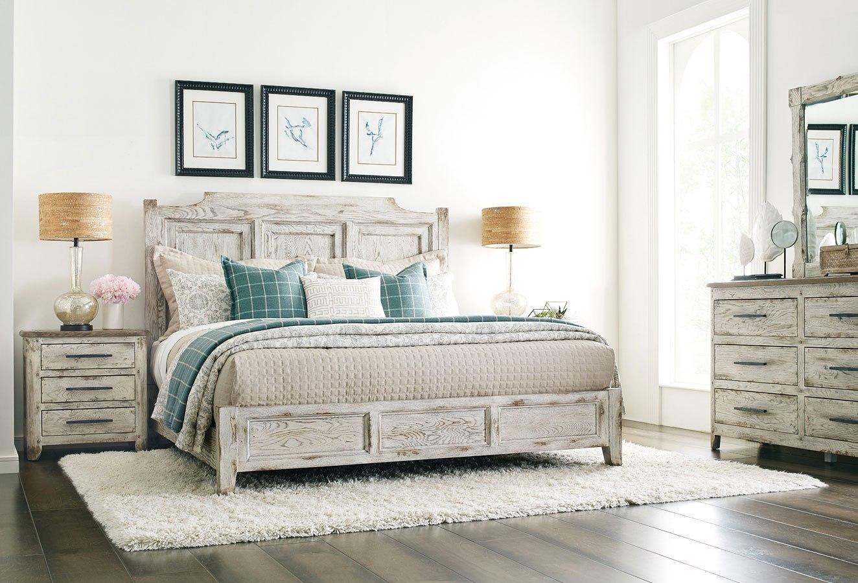 Trails Portland Bedroom Set (Willow) Kincaid Furniture