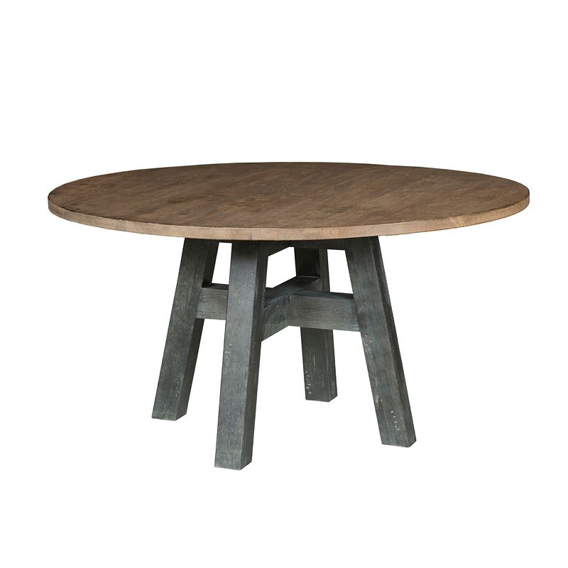Trails Layton 64 Inch Round Dining Table Highlands