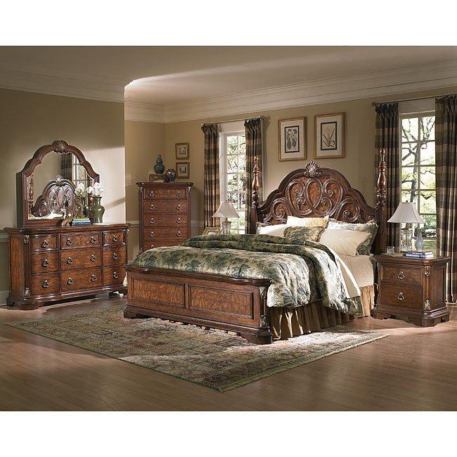 Easton Poster Bedroom Set Samuel Lawrence Furniture   Furniture Cart