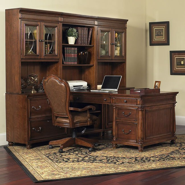 Wesley 7 Piece Home Office Suite