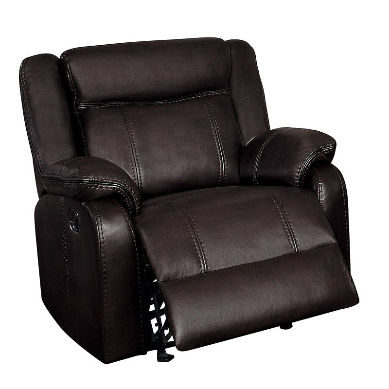 Jude Glider Recliner (Brown)
