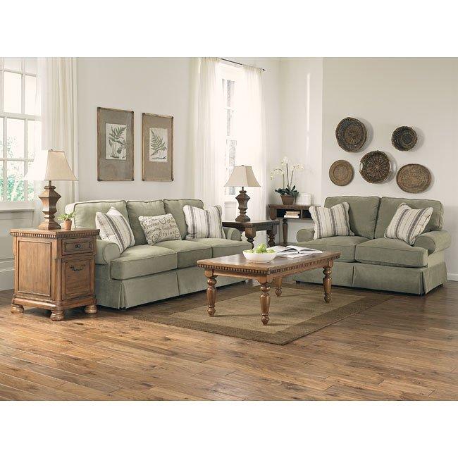 Aldridge Sage Living Room Set