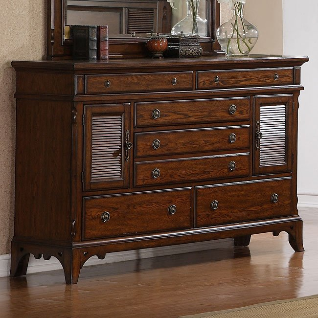 Exceptionnel Sherwood Oak Dresser By Samuel Lawrence Furniture
