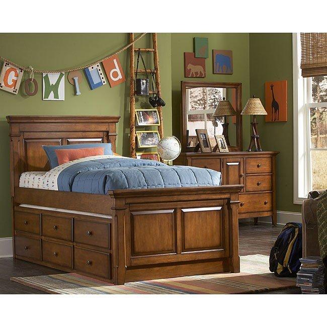 Safari Storage Trundle Bedroom Set Samuel Lawrence