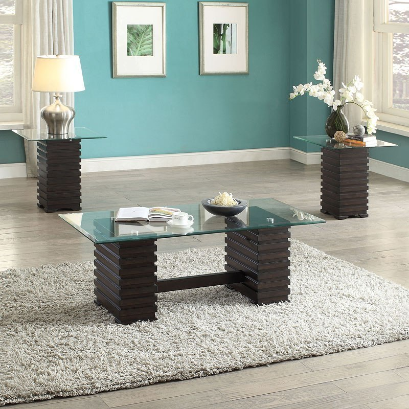 Earleen 3 Piece Occasional Table Set