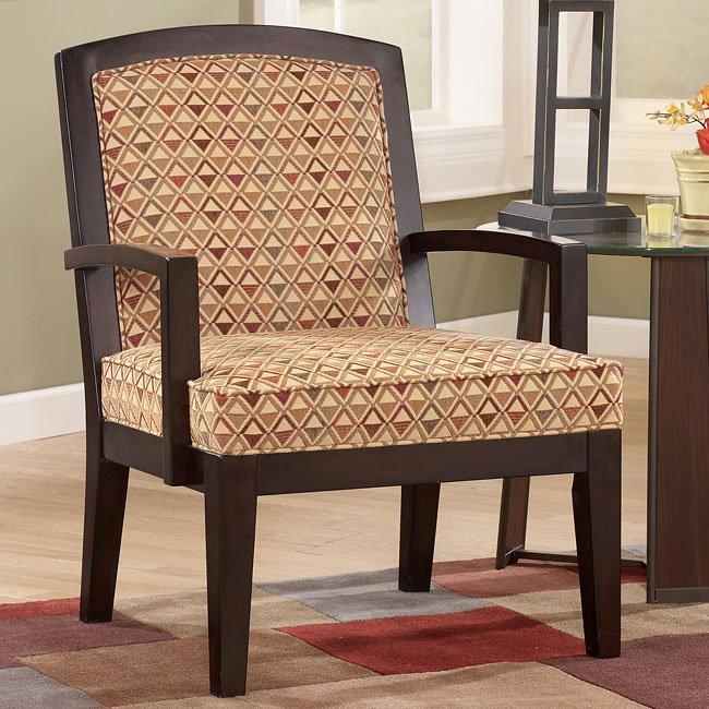 Encore - Salsa Showood Accent Chair