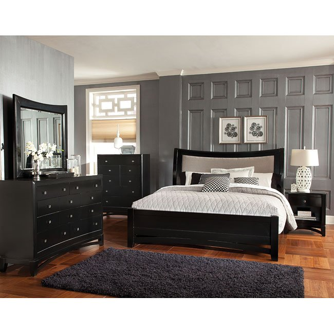 Memphis Sleigh Bedroom Set Standard Furniture | Furniture Cart