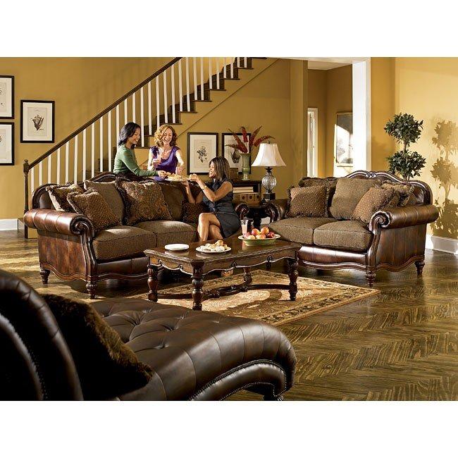 Claremore - Antique Living Room Set Signature Design, 2 Reviews ...