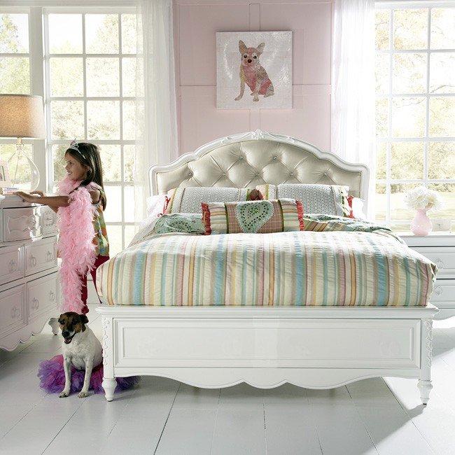 Sweetheart Princess Bedroom Set Samuel Lawrence Furniture