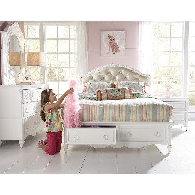 Sweetheart Princess Bedroom Set W Storage Bed Samuel