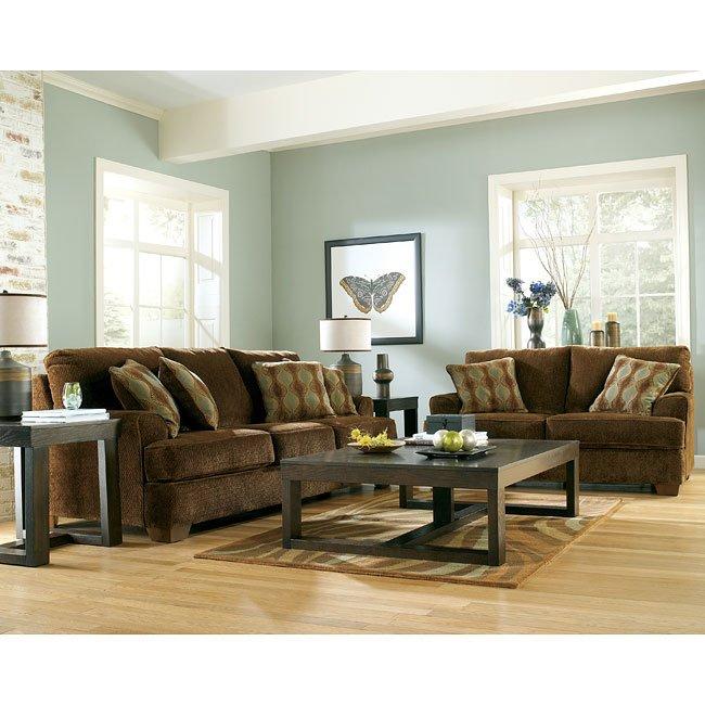 kennedy  java living room set signature design 1 reviews