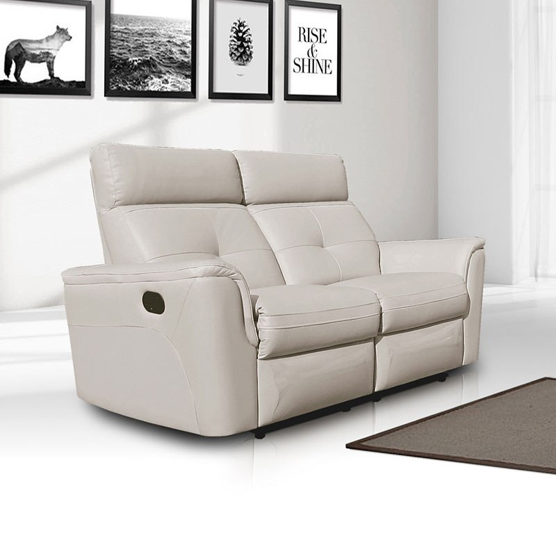 Fine 8501 Reclining Loveseat White Gmtry Best Dining Table And Chair Ideas Images Gmtryco