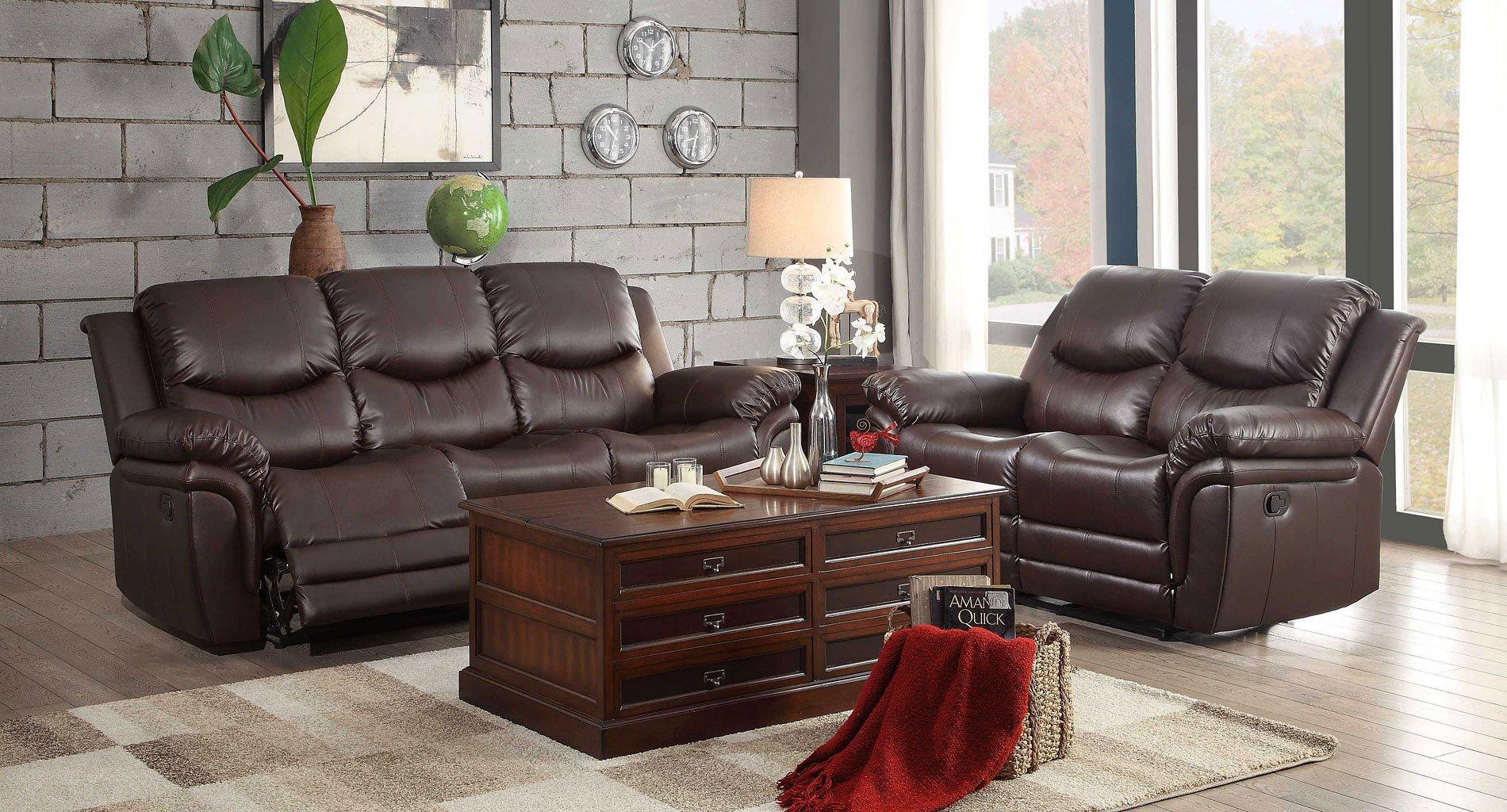 St Louis Park Reclining Living Room Set Homelegance