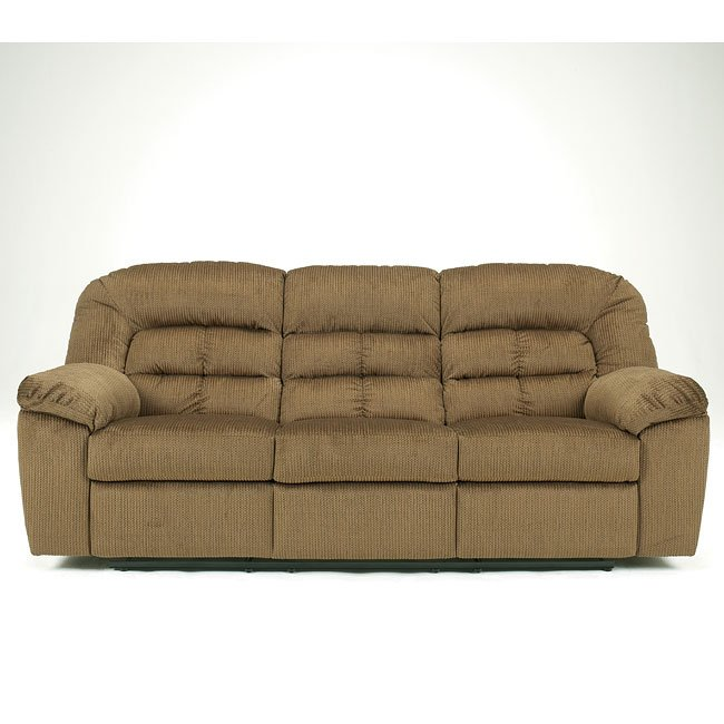 Comfort Zone - Pecan Reclining Sofa
