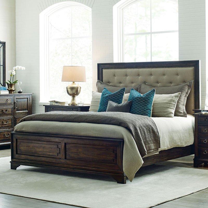 Wildfire Tweed Panel Bed