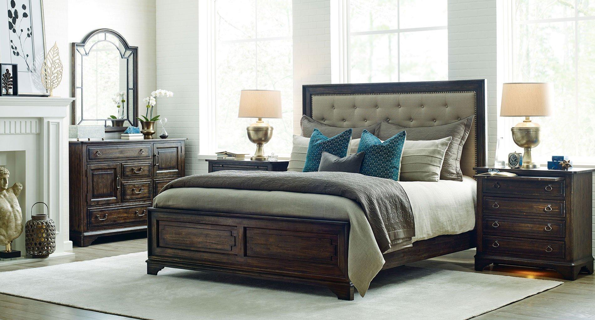 06870499ea4b9b Wildfire Tweed Panel Bedroom Set Kincaid Furniture | Furniture Cart