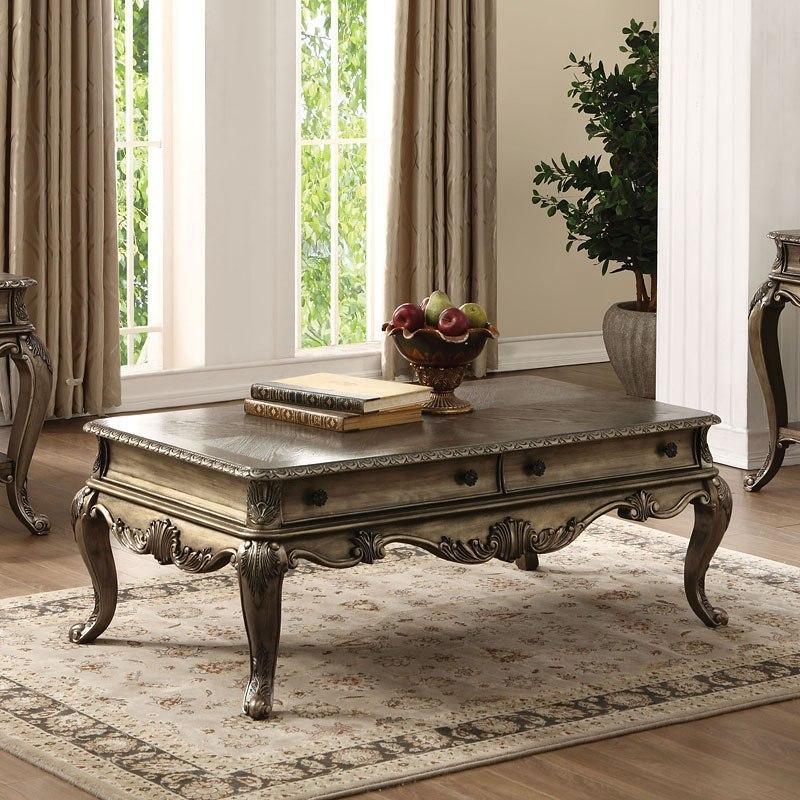 Retro Living Room Furniture Sets: Ragenardus Living Room Set (Vintage Oak) Acme Furniture