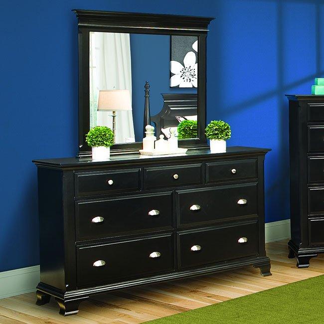 Chelsea Ebony Poster Bedroom Set Vaughan Furniture 1