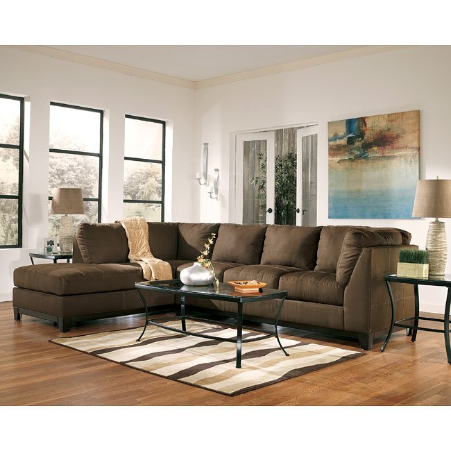 Fusion - Cafe Sectional Living Room Set