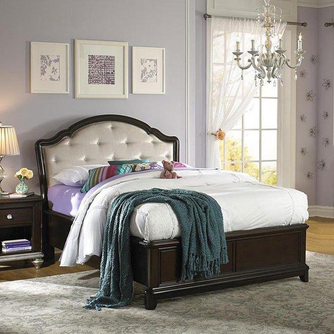 Girls Glam Panel Bed