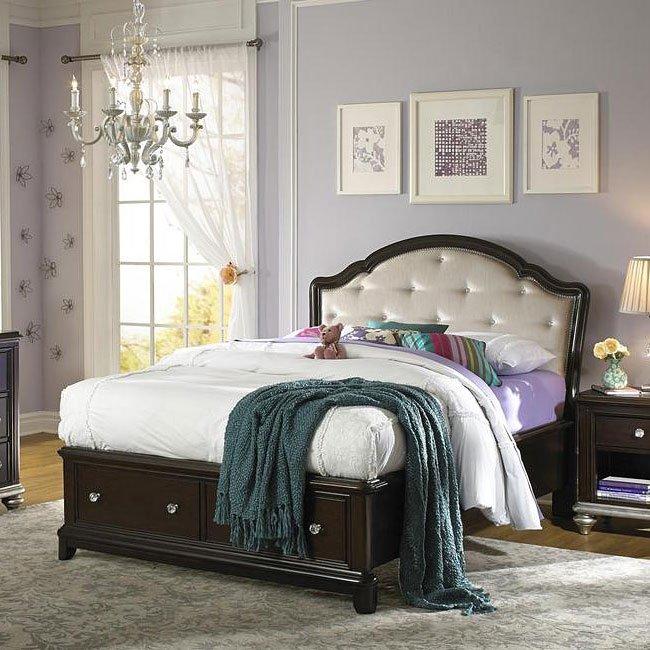 Girls Glam Storage Bed