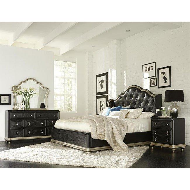 Avanti Low Profile Bedroom Set