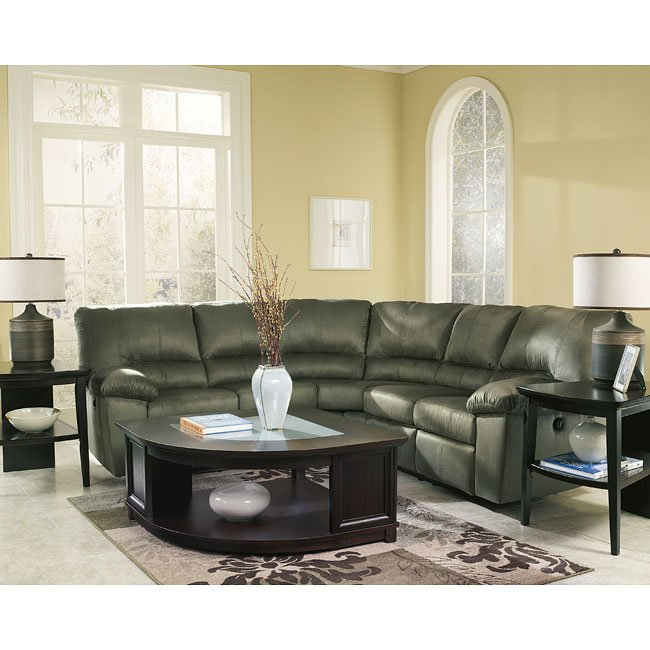 Marguerita Olive Power Sectional