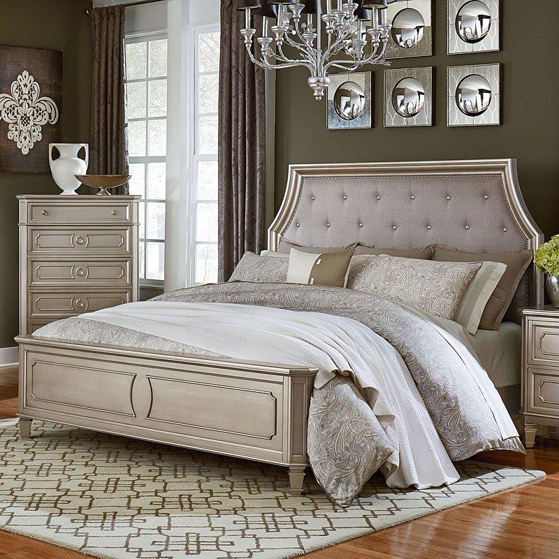 Windsor Panel Bed Silver Standard Furniture 1 Reviews