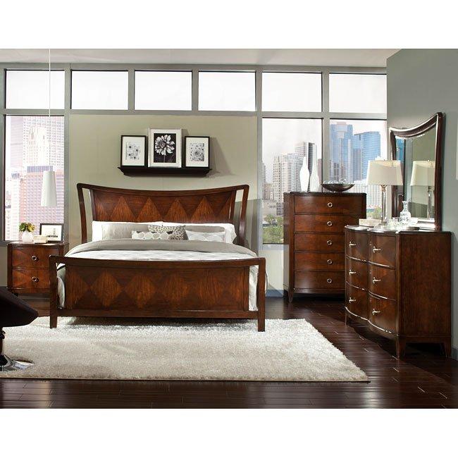 Park Avenue Ii Sleigh Bedroom Set Standard Furniture