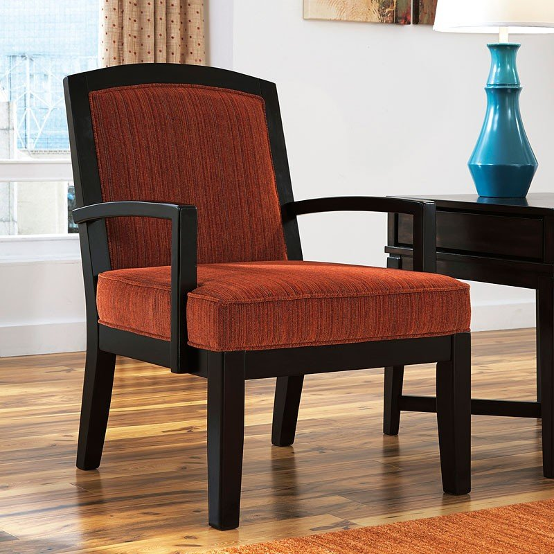 Orrin Orange Accent Chair Signature Design By Ashley Furniture Cart