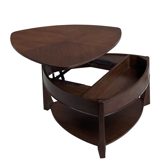 878 Series Wedge Lift Top Tail Table
