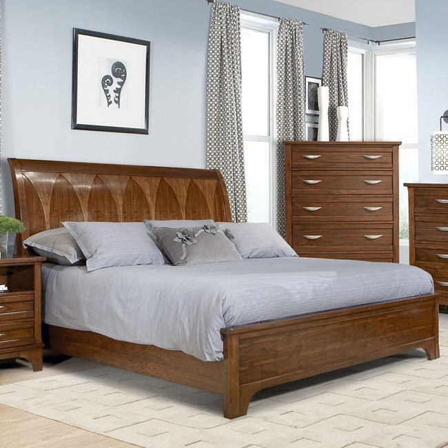 Radiance Sleigh Bed