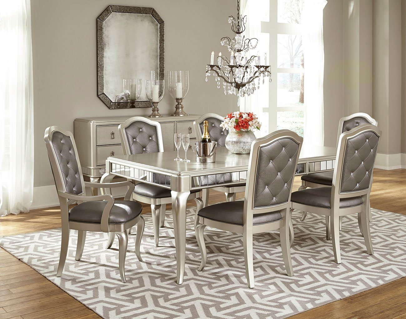 Diva Dining Room Set Samuel Lawrence Furniture, 1 Reviews
