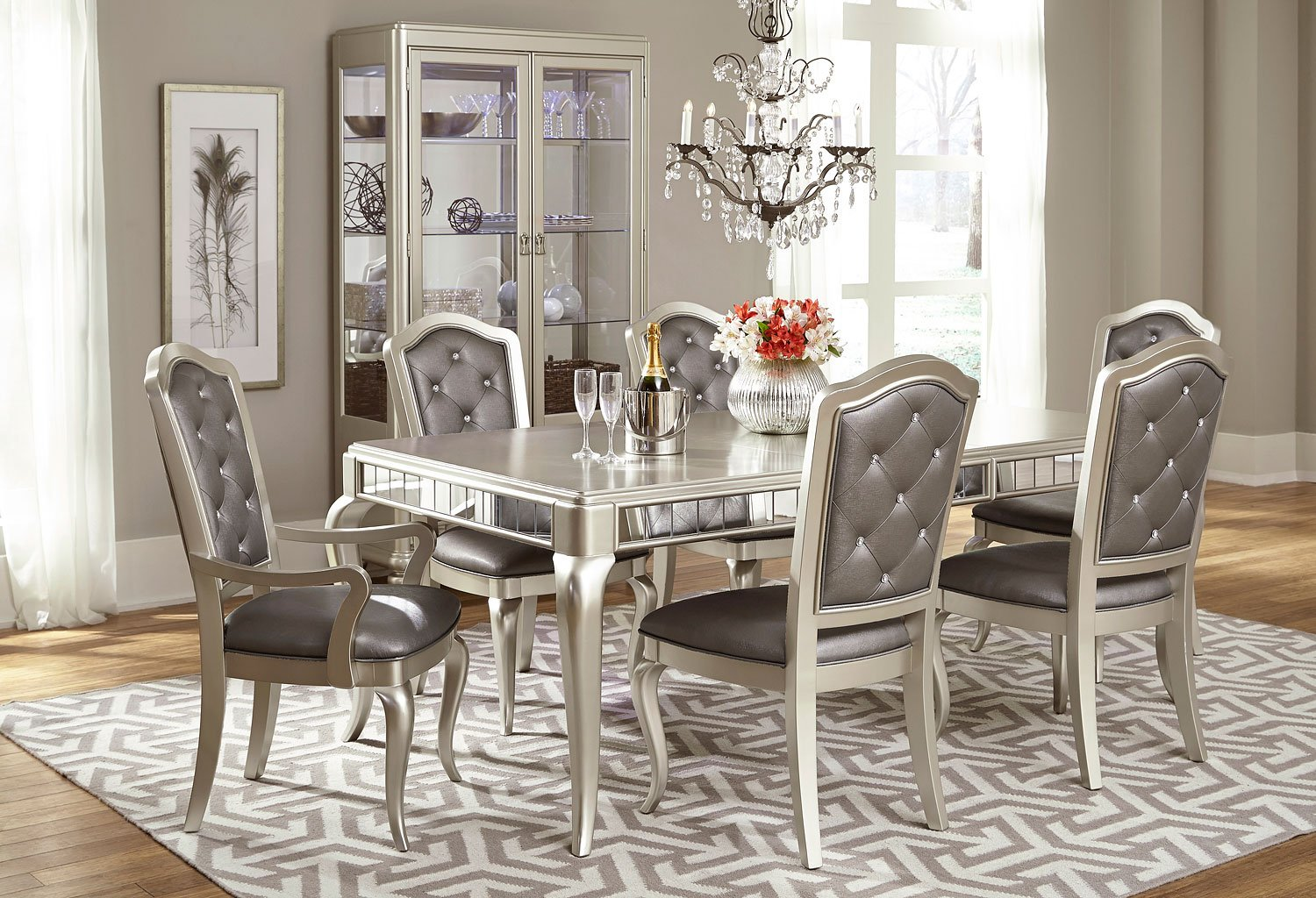 Diva Dining Room Set Samuel Lawrence Furniture 2 Reviews Furniture Cart